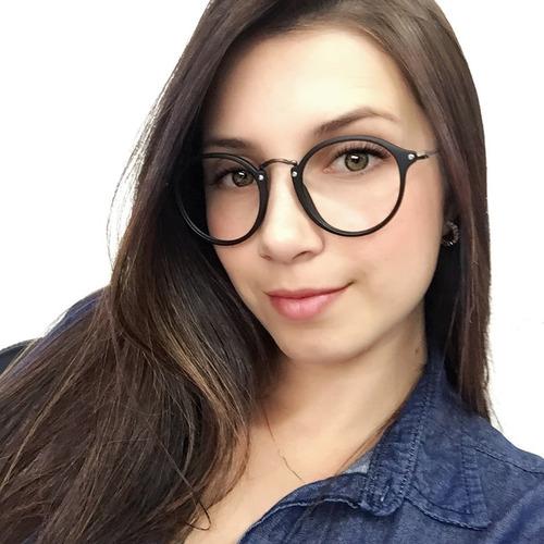 Armação Óculos De Grau Redondo Masculino Feminino Brinde. R  59 d2a620b837