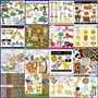Scrapbook Digital Safari Zoo 104 Kits
