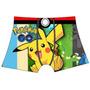 Cueca Infantil Pokemon Go Promoção Kit 6 Peças