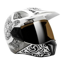 Capacete Moto Bieffe 3 Sport Maori Branco Lançamento 61xl