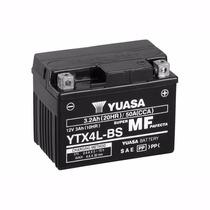 Bateria Yuasa Ytx4l-bs - Honda Biz 100