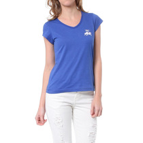 Camiseta Basic Ocean Azul - Club Polo Collection