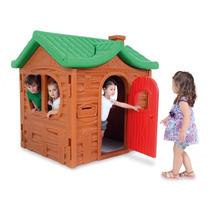 Novo Brinquedo Para Playground Casinha Chalé Da Montanha