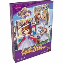 Puzzle Progressivo Princesinha Sofia 16, 25 E 49 Peças - Gro