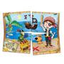 Painel Cartonado Para Decoração De Festa Piratas Infantil