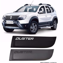 Kit Friso Lateral Renault Duster Original Largo Preto Cinza