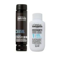 Loreal Cover 5 Nº 03 Castanho Escuro 50ml + Oxidante 75ml
