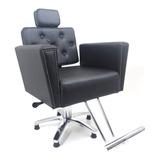 Poltrona Cadeira Para Cabeleireiro Sofia Reclinável