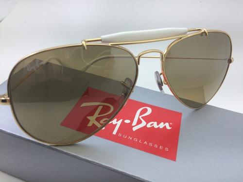 abbbe097b2358 Óculos De Sol Ray Ban - Rb 3407 - Original Com Nota Fiscal - R  460 ...