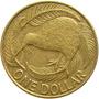 Nova Zelândia - 1 Dolar 2000