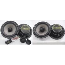 Kit 2 Vias Audiophonic Ks6.2 6,5 + Coaxial Cs650/v2 6
