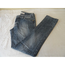 Calça M.officer Slim Fit Jeans Stretch Feminina - Tamanho 38