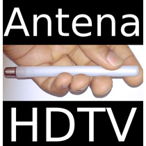 Kit 2 Antenas Hdtv Uhf Hd Digital Mini 5db Externa Interna