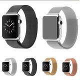 Pulseira Milanese Aço Loop Metal Para Apple Watch 1 2 3 E 4