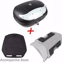 Bau Bauleto Para Moto Xre 300 + Bagageiro Xre300 45 Litros