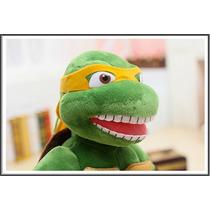 Michelangelo Brinquedo Tartaruga Ninja 40cm Pronta Entrega