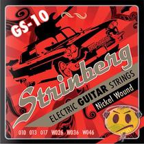 Encordoamento Guitarra Strinberg 010 Top I Frete R$9,00