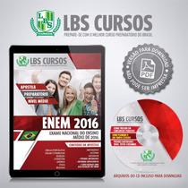 Apostila Digital Enem 2016 Volume Completo Frete Grátis