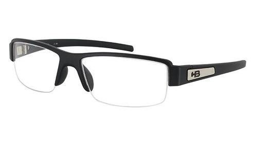 Armação Oculos Grau Hb Polytech 9310200133 Preto Fosco a49b2530f6
