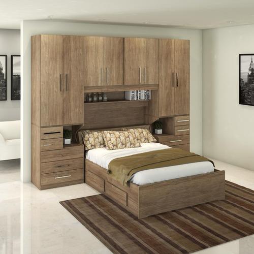 cfd89ddc97 Dormitório De Casal Completo 1223 Castanho
