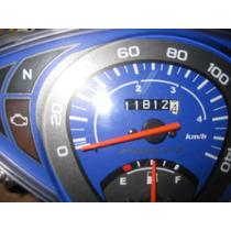 Painel Biz 125 Ano 2013 Fundo Azul R$ 203,00 Usado Bem Novo