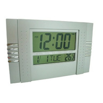 Relógio De Parede Digital Data Temperatura E Alarme Natal