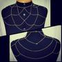 Body Chain/ Shoulder Piece Dourado