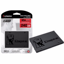 Hd Ssd 240gb Kingston 2.5 Sata Iii A400