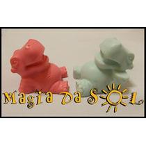Sabonete Artesanal Infantil Hipopótamo - 10 Unidades