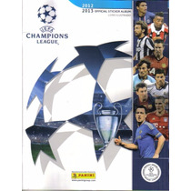 Álbum Uefa Champions League 2012/2013 Completo Ótimo Estado