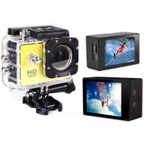 Camera Filmadora Esportiva Hd 1080p Maior Tela Lcd 2.0