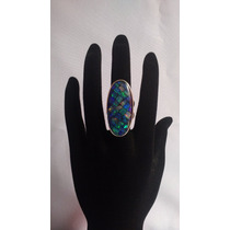 Anel - Jóias Opala Pedra Em Prata 950