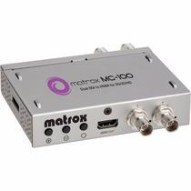 Mini Conversor Sdi Para Hdmi 3g/3d/hd/sd Matrox Mc-100