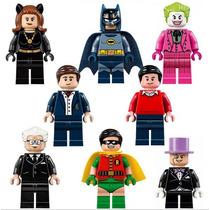 Bruce Wayne Dick Grayson Batman Alfred Robin Lego Compatível