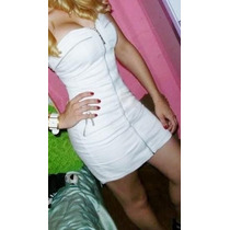 Liquida Vestido Jeans Branco Planet Girls Tam 36 E 38