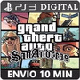 Gta San Andreas Hd Remastered Ps3 Código Psn Jogo Digital