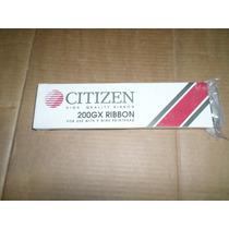 Fita Preta Para Impressora Matricial Citizen 200gx