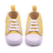 Sapatinho Baby Tipo All Star Tenis Bebê Cano Alto Sapato