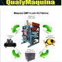 Máquina Para Blocos - Kit Fábrica De Blocos Pneumática