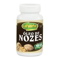 Óleo De Nozes 60 Cápsulas 1200mg Unilife Vitamins