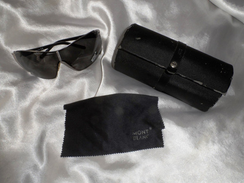 Elegante,raríssimo Óculos Sol Mask Unissex Montblanc,itália a702710ab1