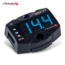 Mini Voltimetro Digital Vt Stetsom Azul Som Modulo Bateria