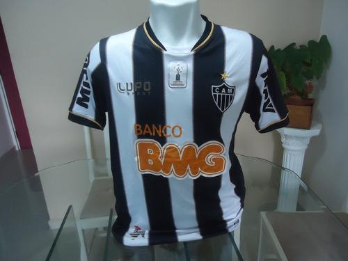 Camisa Do Atlético Mineiro Lupo  Bmg 2013  9 - ( 341) - R  69 en ... 7b0bb7a0c469b