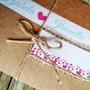 150 Convites De Casamento Modelo Rústico De Papel Reciclado