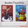 Quadro Canvas Decorativo Imagens Abstrata Paisagens 40x30 L