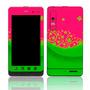 Capa Adesivo Skin358 Motorola Milestone 3 Xt860 + Kit Tela