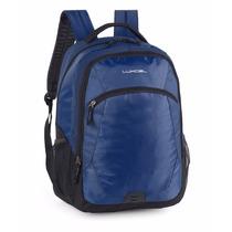Mochila Azul Luxcel Escolar Viagem Academia Ms45276lx