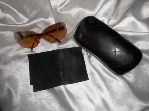 Elegante,lindo Óculos De Sol Chanel Fem.,frança,anos 2000 fefc432d37
