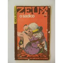 Herói Erótico Nº 2! Zeus O Sádico! Grafipar 1981!