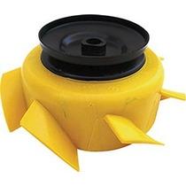 Helice C/ Polia Alternador Gol 83 Bx A Ar 7 Pas Refrigeração